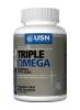 """Жирные кислоты """"USN EFA Triple Omega 40 caps"""" (Производитель USN)"""