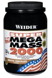 """Гейнеры """"Weider Mega Mass 2000  1500 г"""" (Производитель Weider)"""