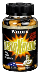 """Повышение тестостерона """"Weider Testo Xplode 120 капсул"""" (Производитель Weider)"""