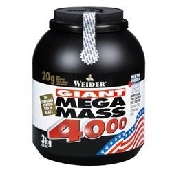 """Гейнеры """"Weider Mega Mass 4000 3000г"""" (Производитель Weider)"""