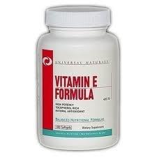 """Витамины и минералы """"UN Vitamin E Formula 100 Softgels"""" (Производитель Universal Nutrition)"""
