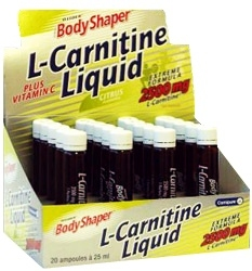 "В ампулах ""Weider L-Carnitine Liquid 2500 20амп Х 25мл"" (Производитель Weider)"