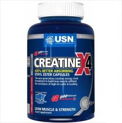 "Креатин ""USN Creatine X4 120 caps"" (Производитель USN)"