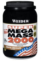"""Распродажа """"Weider Mega Mass 2000 1500 г (распродажа)"""" (Производитель Weider)"""