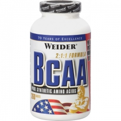 "BCAA ""Weider BCAA 260 таблеток"" (Производитель Weider)"