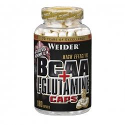 """BCAA """"Weider BCAA + L-Glutamine 180 капсул"""" (Производитель Weider)"""