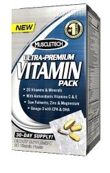 """Витамины и минералы """"MT 100% Ultra-Premium Vitamin Pack"""" (Производитель MuscleTech)"""