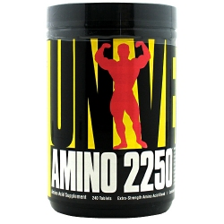 """Аминокислотные комплексы """"UN Amino 2250 240 tab"""" (Производитель Universal Nutrition)"""