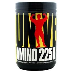 """Аминокислотные комплексы """"UN Amino 2250 260 tab"""" (Производитель Universal Nutrition)"""