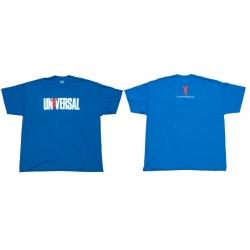 """Одежда """"UN Футболка """"Universal logo"""" синяя"""" (Производитель Universal Nutrition)"""
