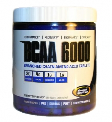 "BCAA ""GN BCAA 6000 180 таблеток"" (Производитель Gaspari Nutrition)"
