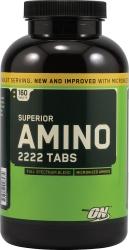 "Аминокислотные комплексы ""ON Superior Amino 2222 Tabs (160tab)"" (Производитель Optimum Nutrition)"