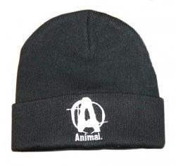 """Одежда """"UN Animal шапка трикотажная черная"""" (Производитель Animal)"""