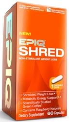"""Липотропики """"EPIQ Shred 60 капсул"""" (Производитель EPIQ)"""