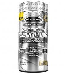 """Капсулы и таблетки """"MT Platinum 100% Carnitine"""" (Производитель MuscleTech)"""
