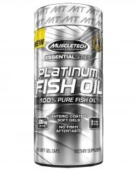 """Жирные кислоты """"MT Platinum 100% Fish Oil"""" (Производитель MuscleTech)"""