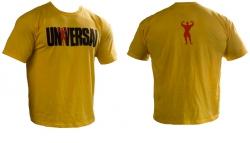 """Одежда """"UN Футболка """"Universal logo"""" желтая"""" (Производитель Universal Nutrition)"""