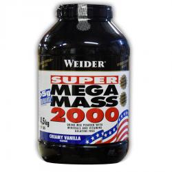 """Гейнеры """"Weider Mega Mass 2000 4500 г"""" (Производитель Weider)"""