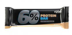 """Протеиновые """"VPLab 60% Protein bar 100г"""" (Производитель VPLab Nutrition)"""