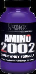 "Аминокислотные комплексы ""Ultimate Nutrition Amino 2002 100tabs"" (Производитель Ultimate Nutrition)"