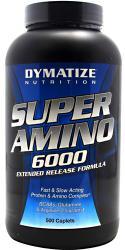 """Аминокислотные комплексы """"Dymatize Super Amino 6000 500 каплет"""" (Производитель Dymatize)"""