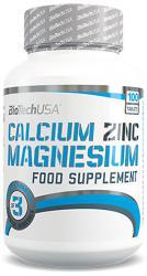 """Витамины и минералы """"BioTech Calcium Zinc Magnesium 100 таблеток"""" (Производитель BioTech)"""