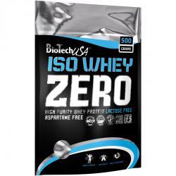 """Сывороточные изоляты """"BioTech USA Iso Whey Zero lactose free 500 г"""" (Производитель BioTech USA)"""