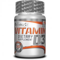 """Витамины и минералы """"BioTech Vitamin D3 60 капсул"""" (Производитель BioTech)"""