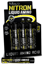 """Аминокислотные комплексы """"BioTech USA Nitron liquid amino 20 x 25 мл"""" (Производитель BioTech USA)"""