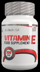 """Витамины и минералы """"BioTech USA Vitamin E 300 100 мягких капсул"""" (Производитель BioTech USA)"""