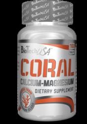 """Витамины и минералы """"BioTech USA Coral Calcium + Magnesium 100 таблеток"""" (Производитель BioTech USA)"""