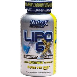 "Распродажа ""Nutrex Lipo 6-X 240 (12/16)"" (Производитель Nutrex)"