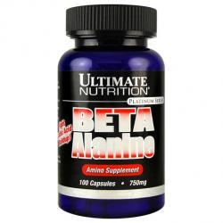 "Моноаминокислоты ""Ultimate Nutrition Beta Alanine 750mg"" (Производитель Ultimate Nutrition)"