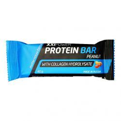 "Протеиновые ""XXI Power Protein Bar с коллагеном / 40г"" (Производитель XXI Power)"
