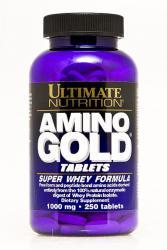 """Аминокислотные комплексы """"Ultimate Nutrition Amino Gold  Formula 1000mg 250 tabs"""" (Производитель Ultimate Nutrition)"""