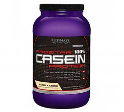 """Казеиновые """"Ultimate Nutrition Prostar 100% Casein 2lb"""" (Производитель Ultimate Nutrition)"""