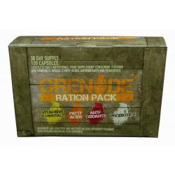 """Распродажа """"Расп. Grenade Ration Pack 120 caps. (31.01.2017)"""" (Производитель Grenade)"""
