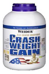 "Распродажа ""Расп. Weider Crash Weight Gain 3000 г (30.04.2019)"" (Производитель Weider)"