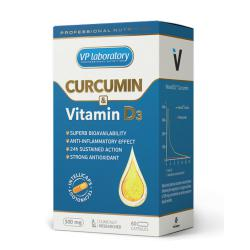 "Антиоксиданты ""VPLab Curcumin & Vitamine D3 60 капс"" (Производитель VPLab Nutrition)"