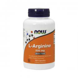 """Аргинин """"NOW L-Arginine 100 капсул"""" (Производитель NOW Foods)"""