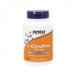 """Моноаминокислоты """"NOW L-Citrulline 90 капсул"""" (Производитель NOW Foods)"""