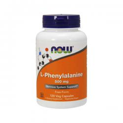 "Моноаминокислоты ""NOW L-Phenylalanine 120 vcaps"" (Производитель NOW Foods)"