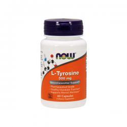 """Моноаминокислоты """"NOW L-Tyrosine 120 капсул"""" (Производитель NOW Foods)"""