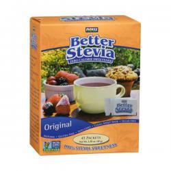 """Диетическое питание """"NOW Better Stevia 45 саше"""" (Производитель NOW Foods)"""