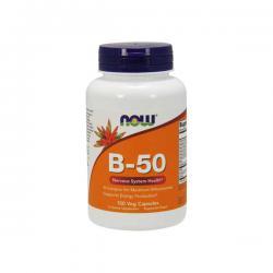 """Витамины и минералы """"NOW B-50 100 викапс"""" (Производитель NOW Foods)"""