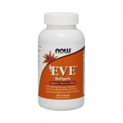 """Витамины и минералы """"NOW Eve Women's Multiple Vitamin 180 софтгельс"""" (Производитель NOW Foods)"""