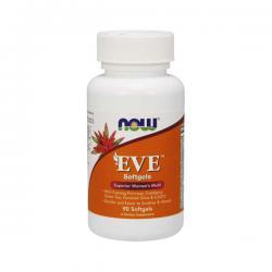"""Витамины и минералы """"NOW Eve Women's Multiple Vitamin 90 sgels"""" (Производитель NOW Foods)"""