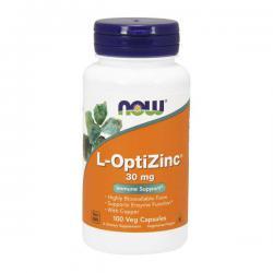 """Витамины и минералы """"NOW L-OptiZinc 100 викапс"""" (Производитель NOW Foods)"""