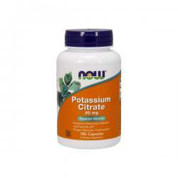 """Витамины и минералы """"NOW Potassium Citrate 180 caps"""" (Производитель NOW Foods)"""