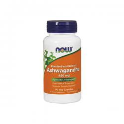 """Поддержка нервной системы """"NOW Ashwagandha Extr. 450mg 90 викапс"""" (Производитель NOW Foods)"""